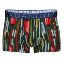 FRANK DANDY/Pen Stripe Short Boxer (グリーン)